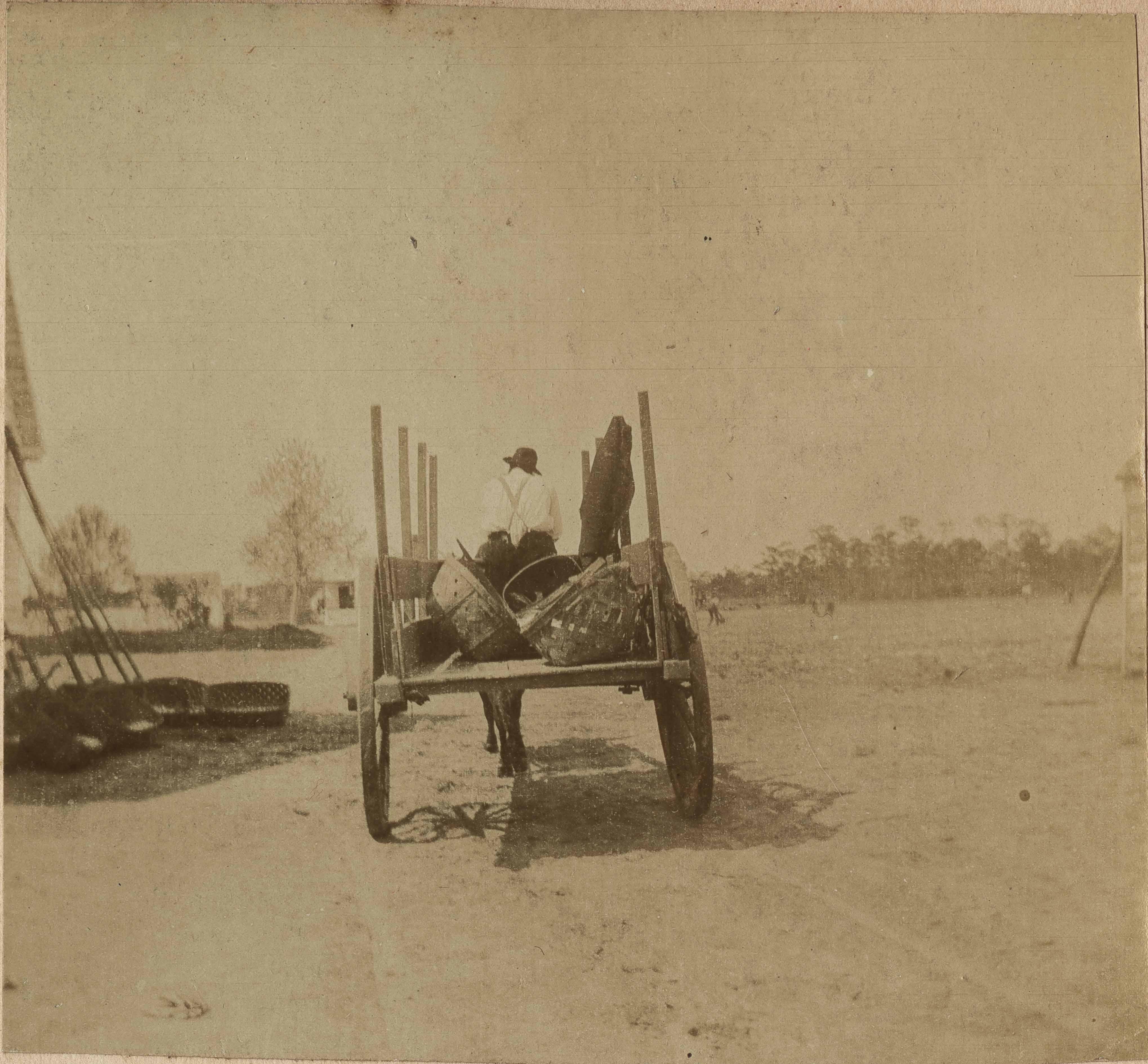 Loaded wagon