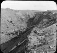 Stripping Coal at Hazelton, Pa.