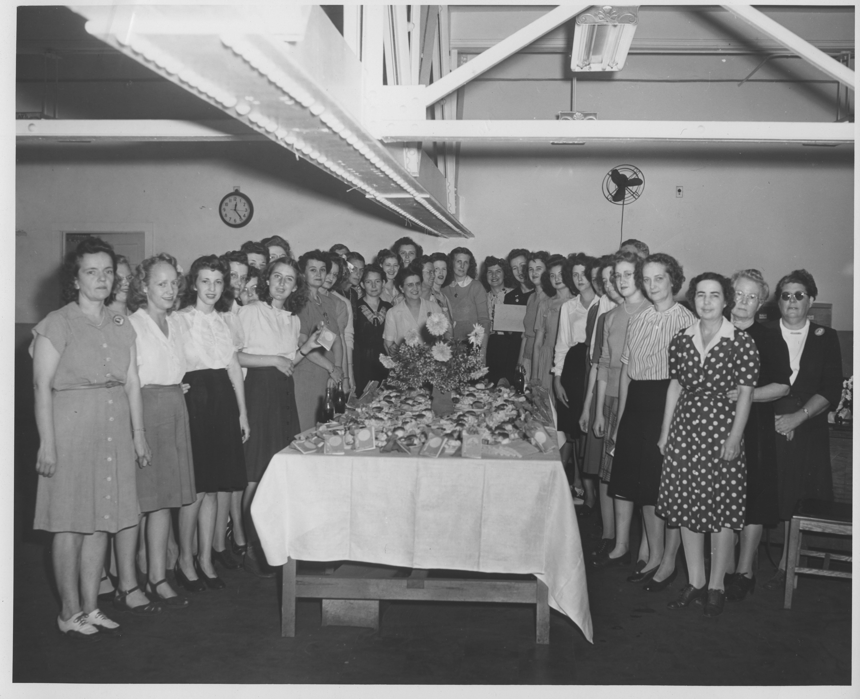 Christmas Dinner, Shipfitter, 1943