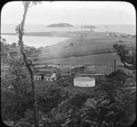 Islands and Breakwater, Pacific Entrance, Canal Zone.
