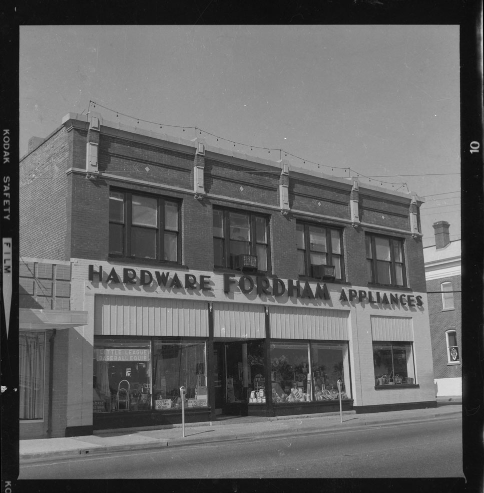 Exterior view of Fordham Hardware & Appliances