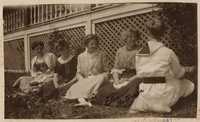 Group of unidentified women