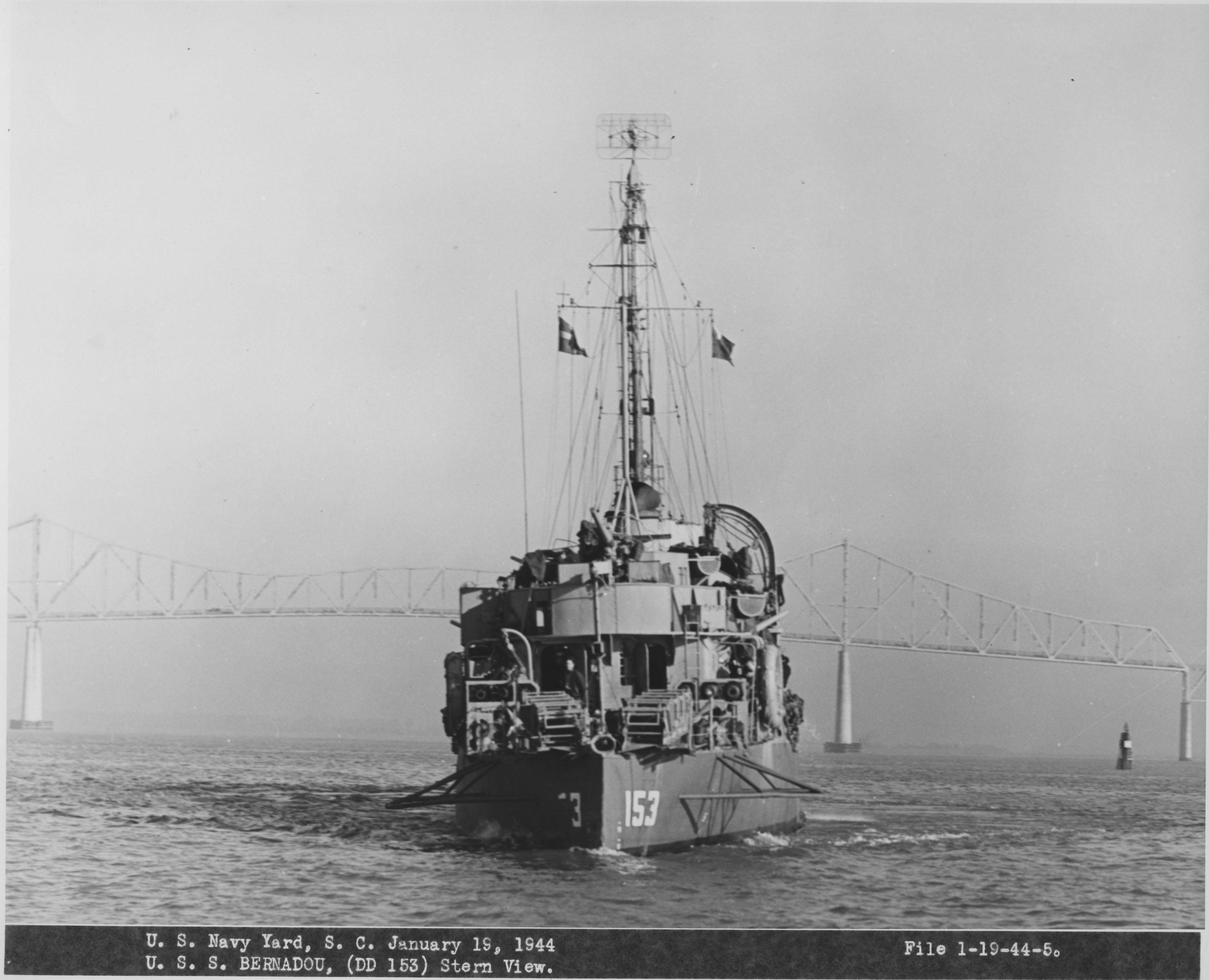 USS Bernadou