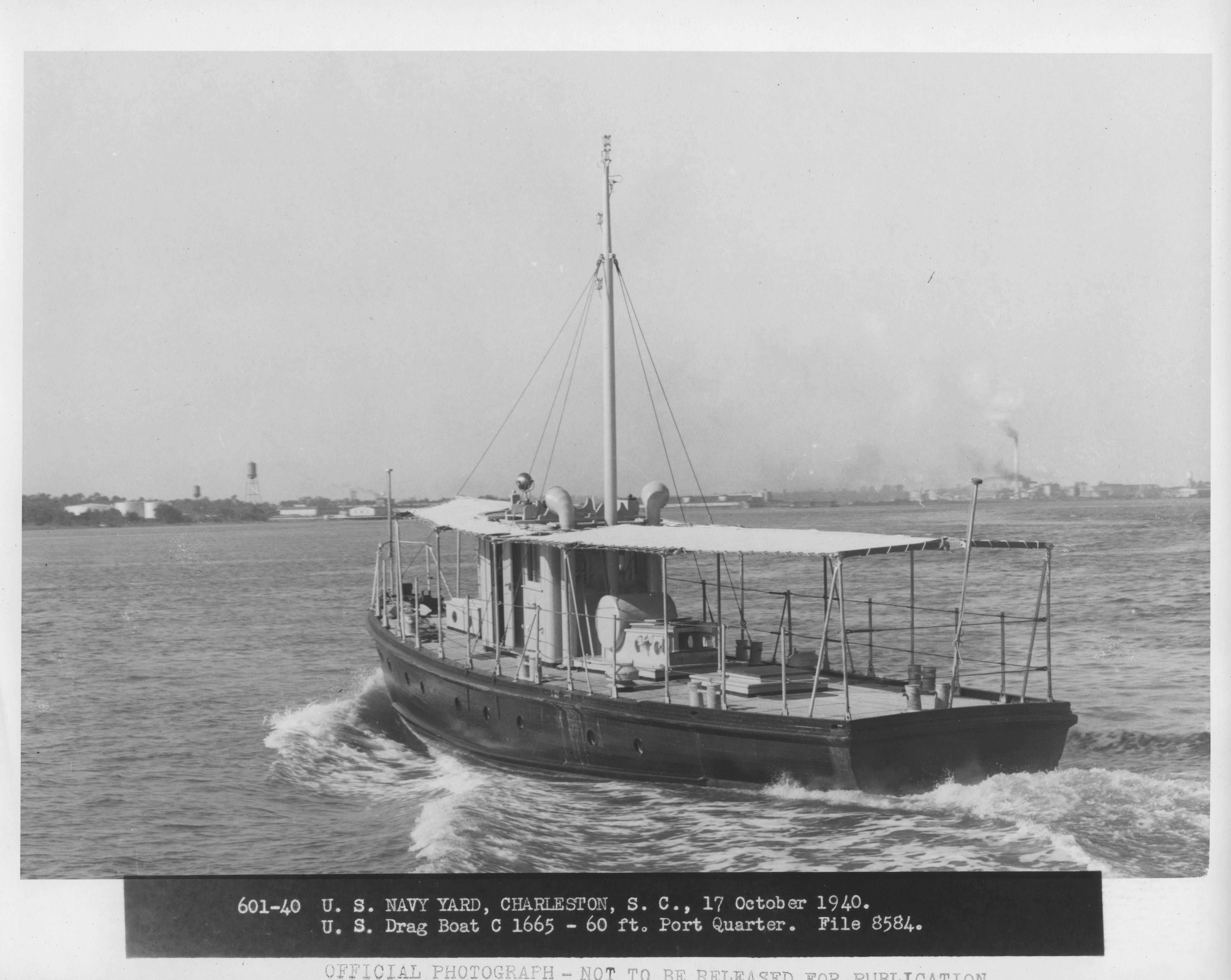 US Drag Boat C 1665