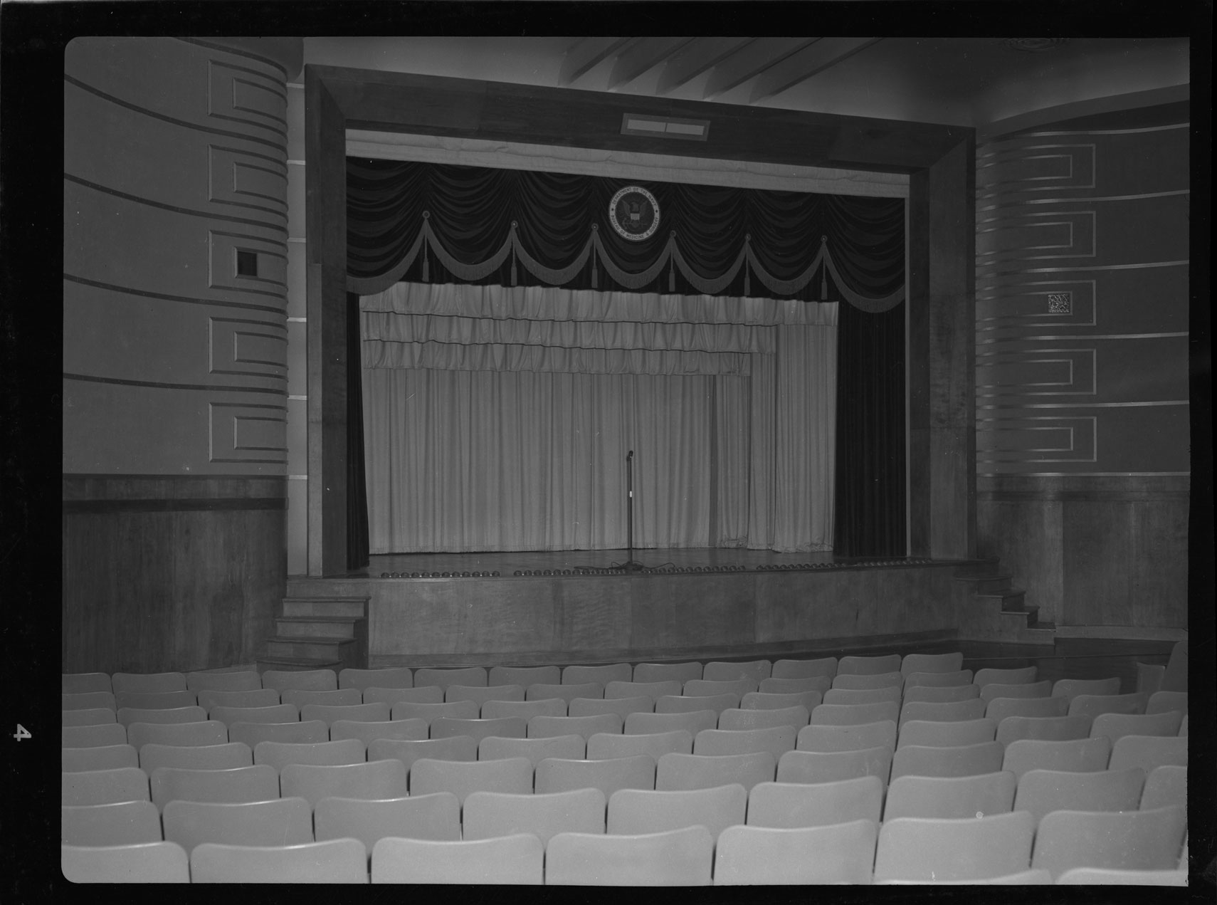 Auditorium at the Naval Hospital