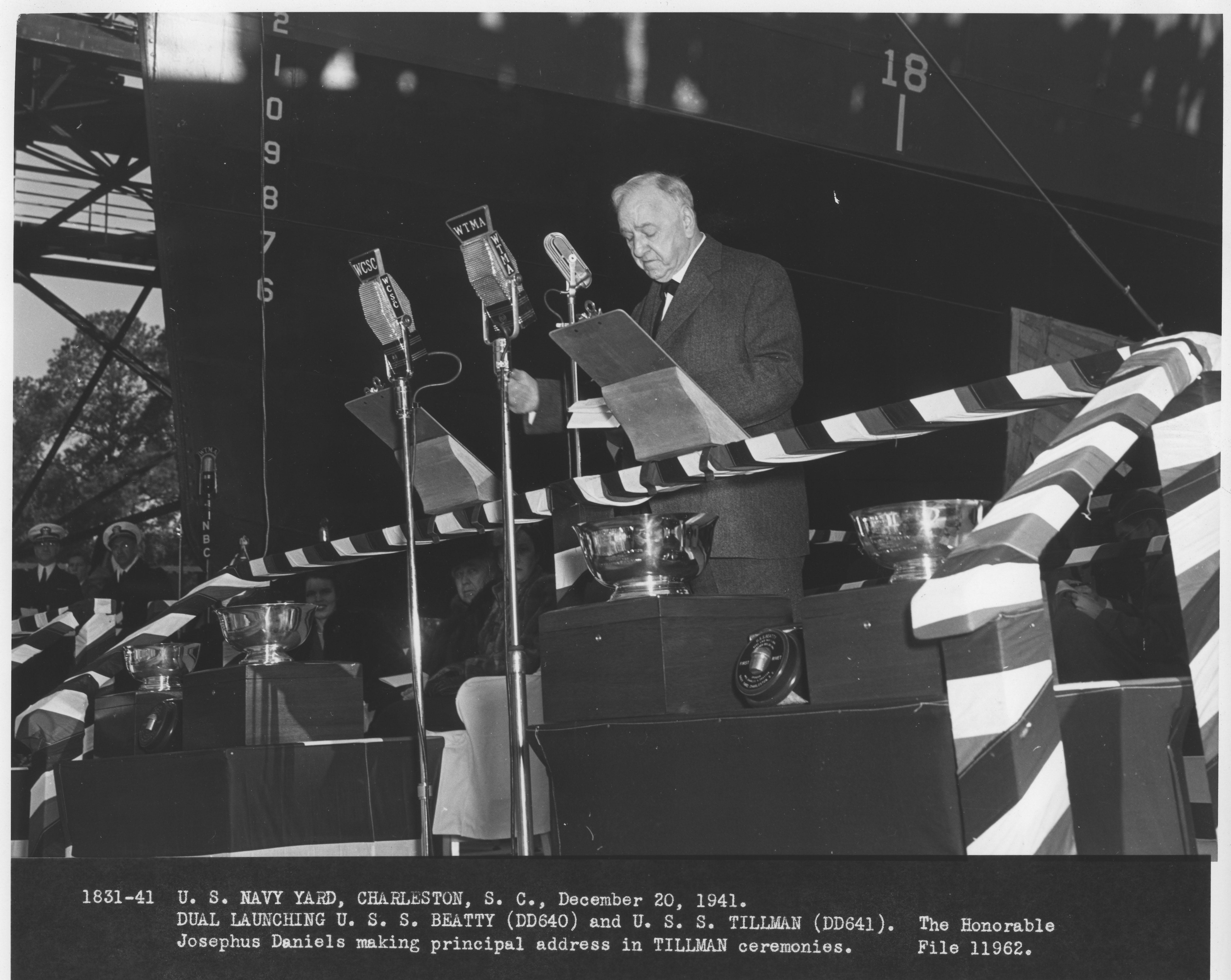 USS Beatty and USS Tillman