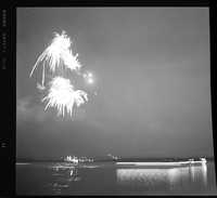 Fireworks over the Beaufort River