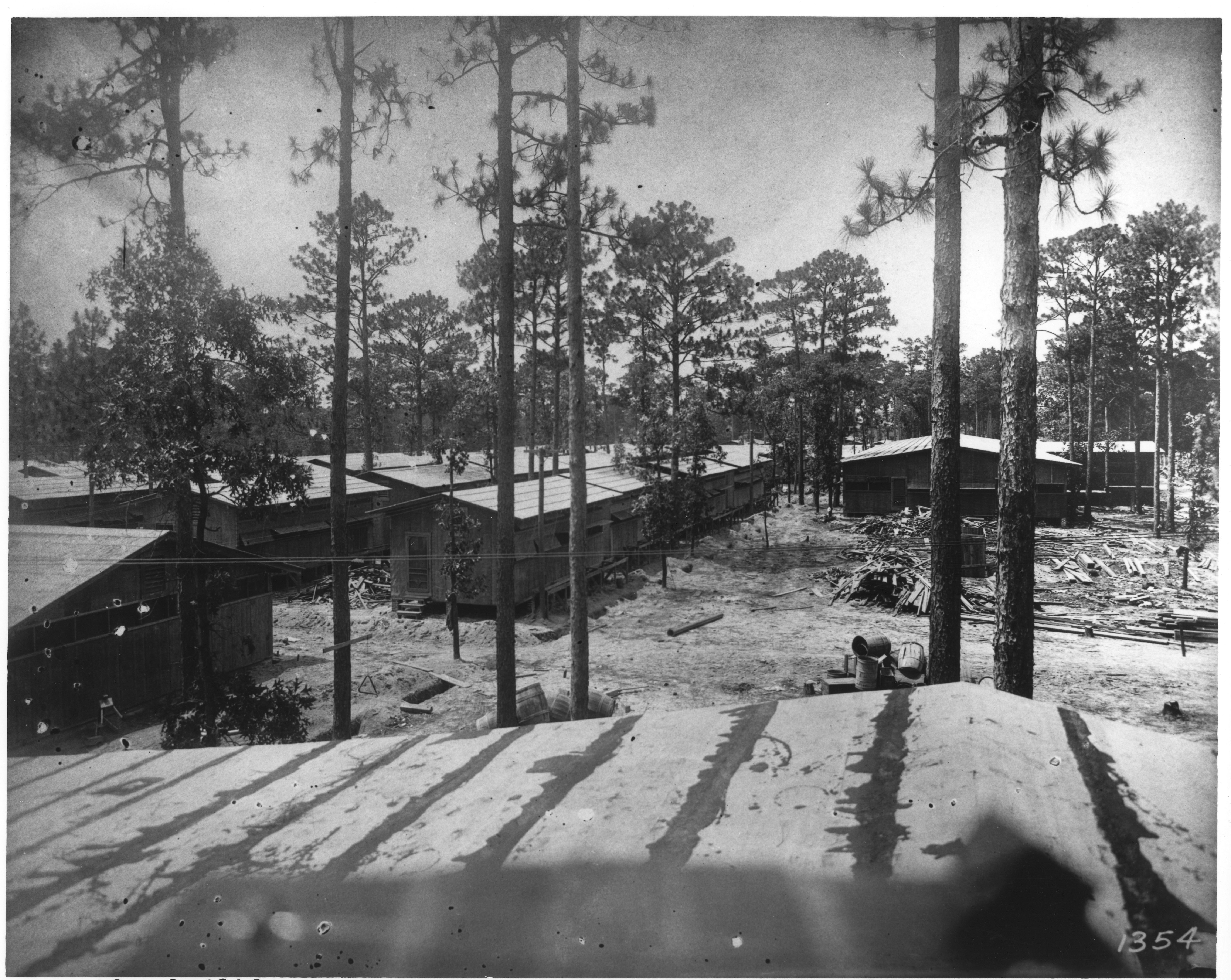 Barracks of Naval Training Camp
