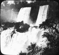 Majestic Iquaza Falls, Argentina.
