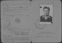 Pincus Kolender's drivers license, Pocking, Germany 1946