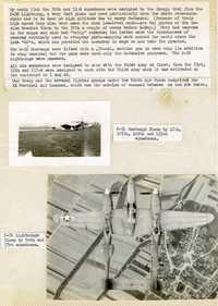P-51 Mustangs; P-38 Lightning