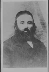 Pincus Kolender's grandfather, Moishe Kolender 1930s