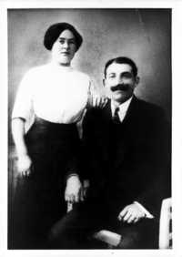 Max and Berta Adler circa 1920