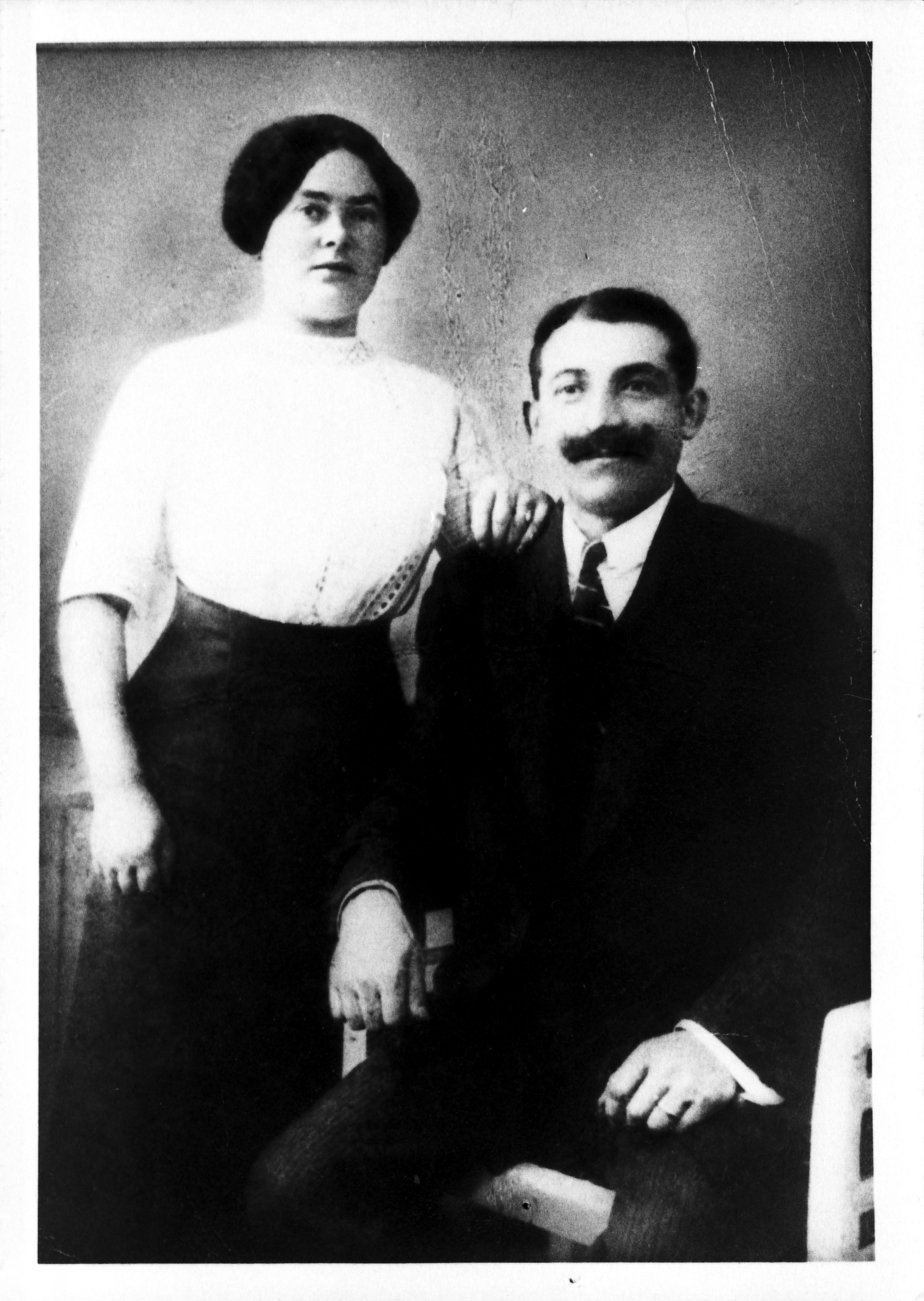 Max and Berta Adler circa 1920