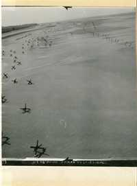 Normandy, pre D-day reconnaissance photo