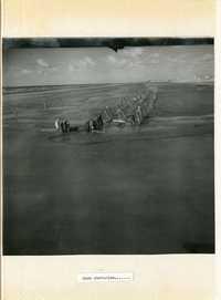 Normandy, pre D-day reconnaissance photo