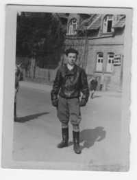 Joe Engel, DP camp Zeilsheim, 1946