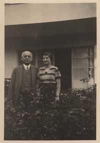 Adolf Mondschein and Claire Mondschein, Cologne, 1934