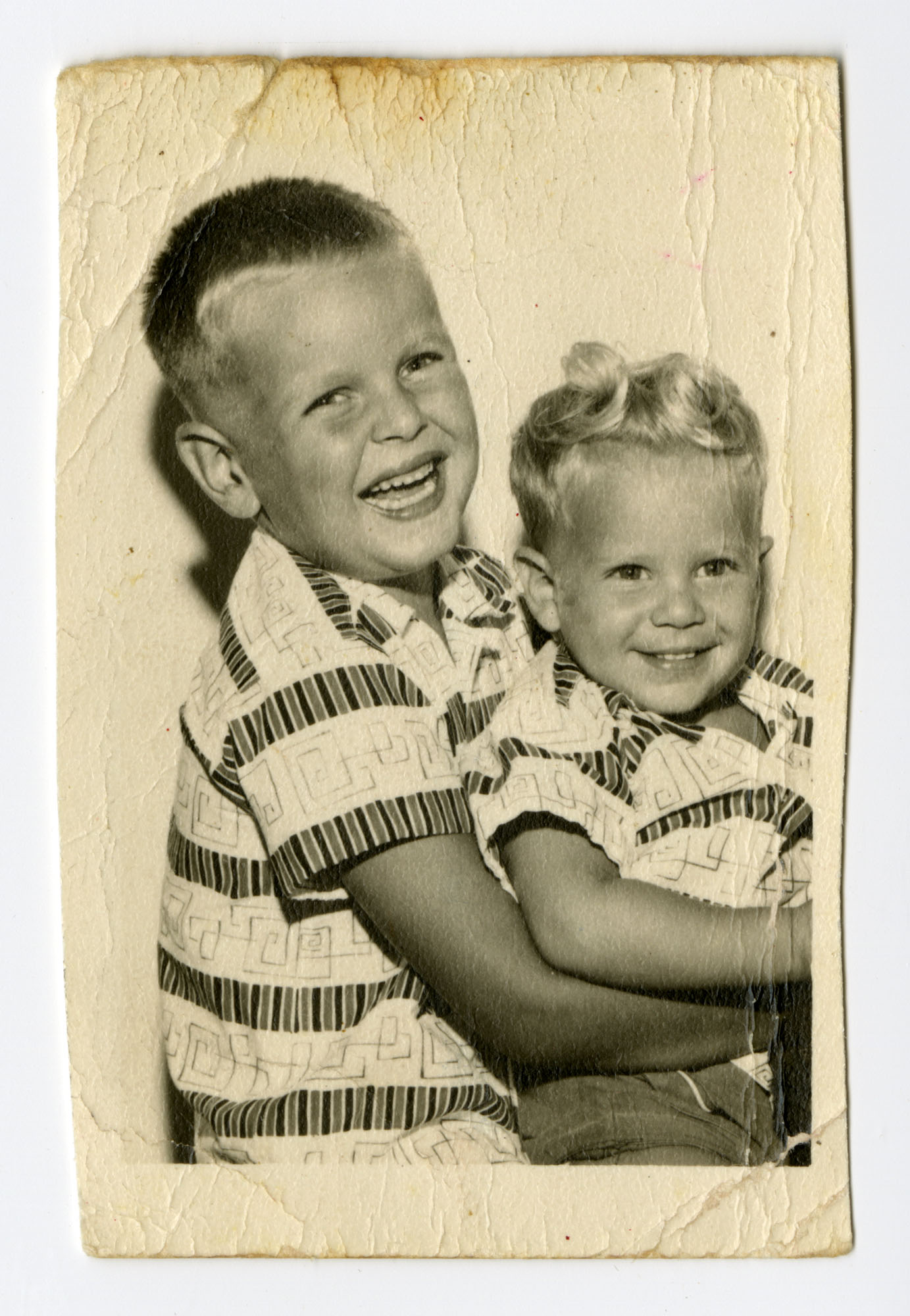 Mark Lee and Forest Alan Taylor, 1957