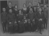 Renee Kolender's family on father's side (Fuchs) circa 1925