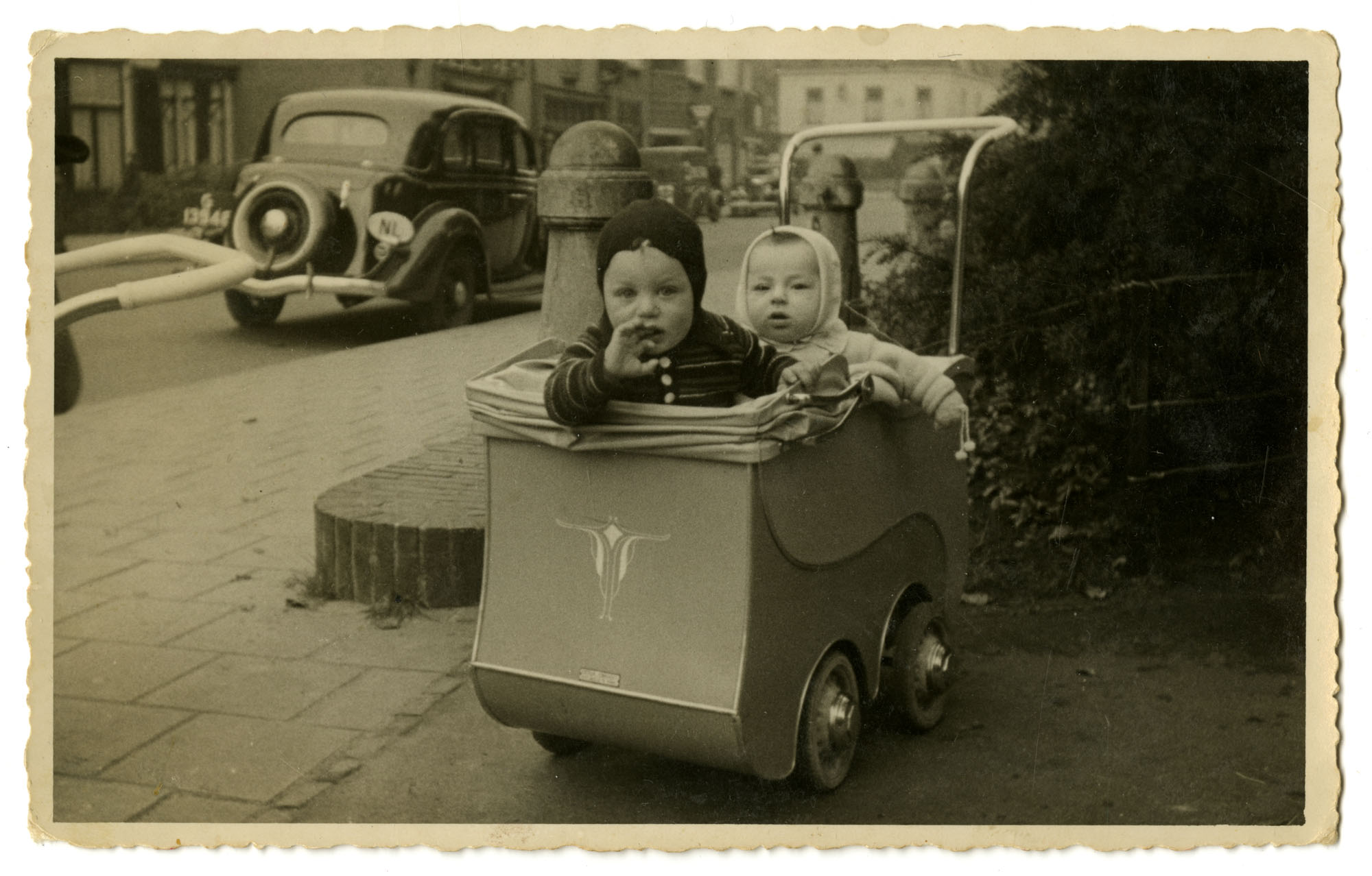 Gabriel DeLeeuw and Dientje Krant, 1939