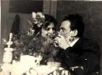 Harry and Erika Blas wedding photo 1951