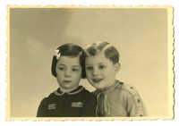 Dientje Krant and Gabriel DeLeeuw, 1942
