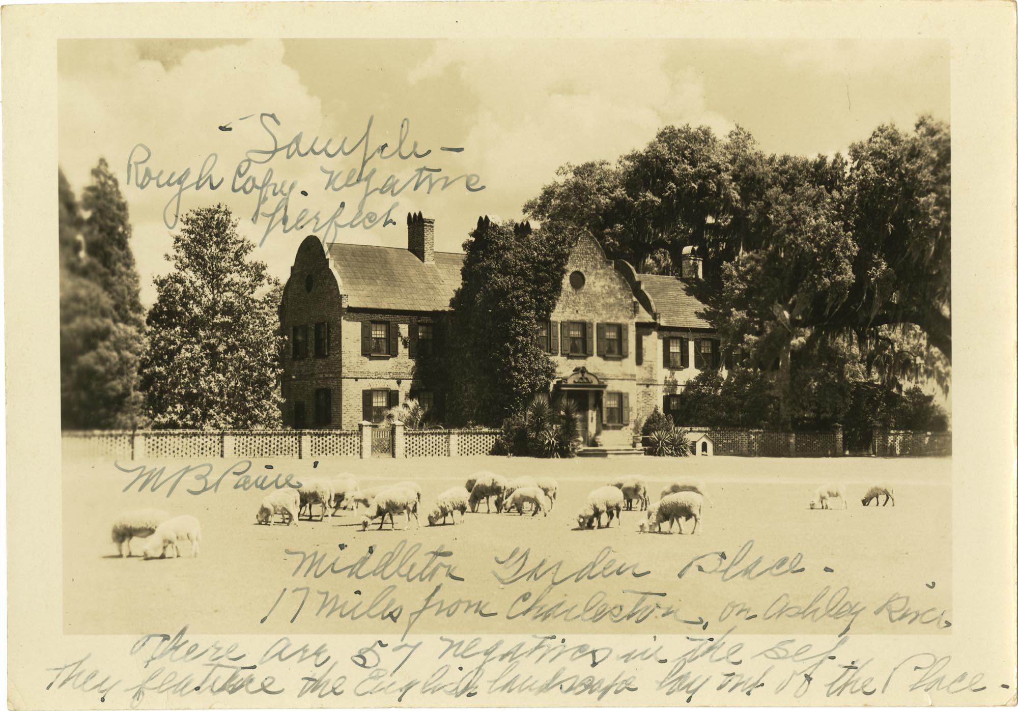 Plantations, Middleton Place