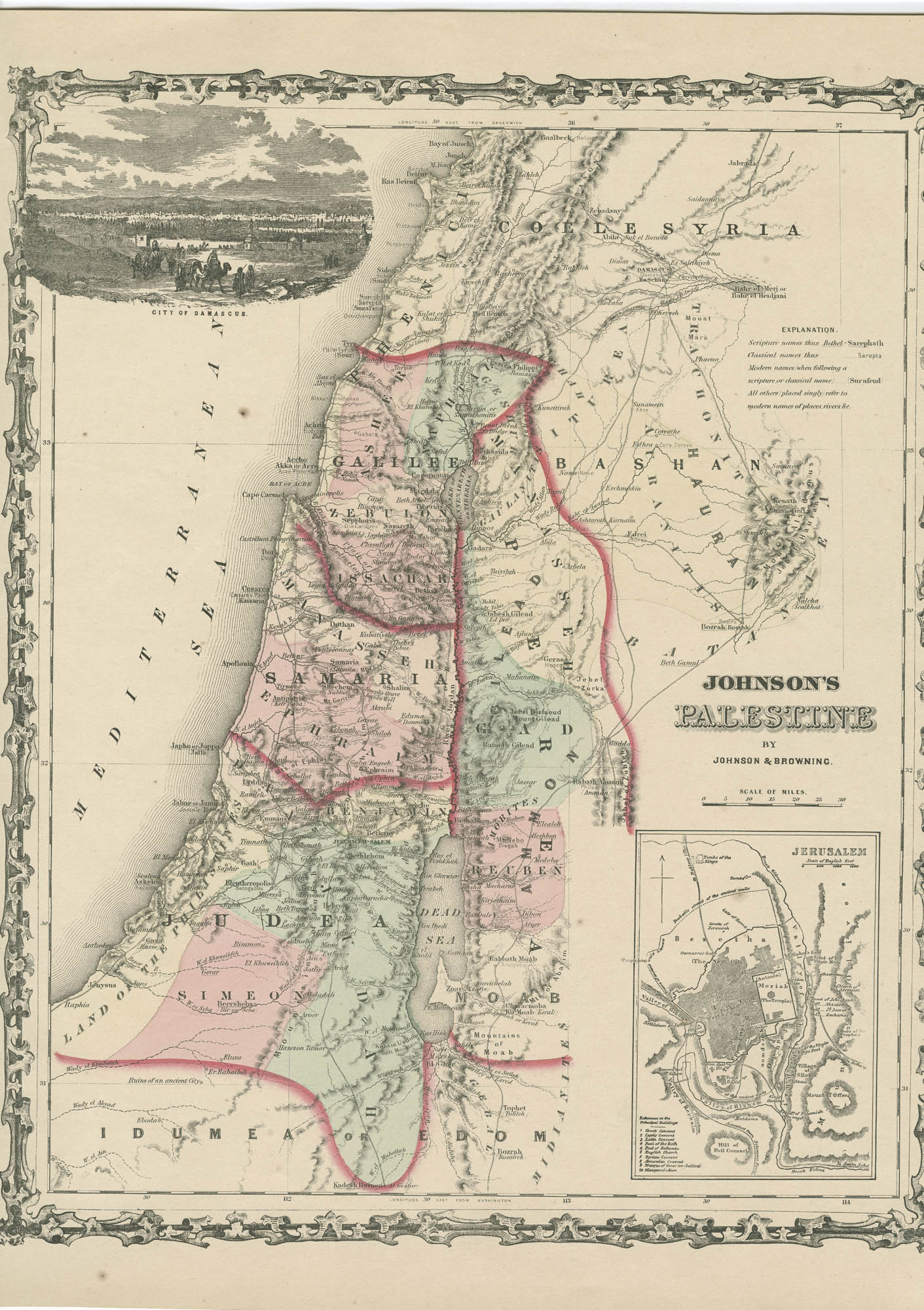 Johnson's Palestine