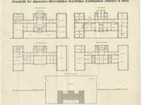 Grundrisse des allgemeinen österreichischen israelitischen Taubstummen-Institutes in Wien