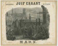 Quadrille sur le juif errant de F. Halévy pour le piano